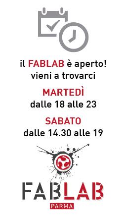 il FabLab è aperto!
