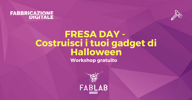 sabato 28 ottobre workshop gratuito fresa day