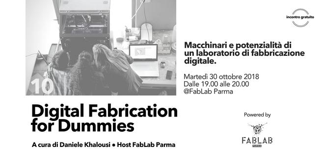 digital fabrication for dummies