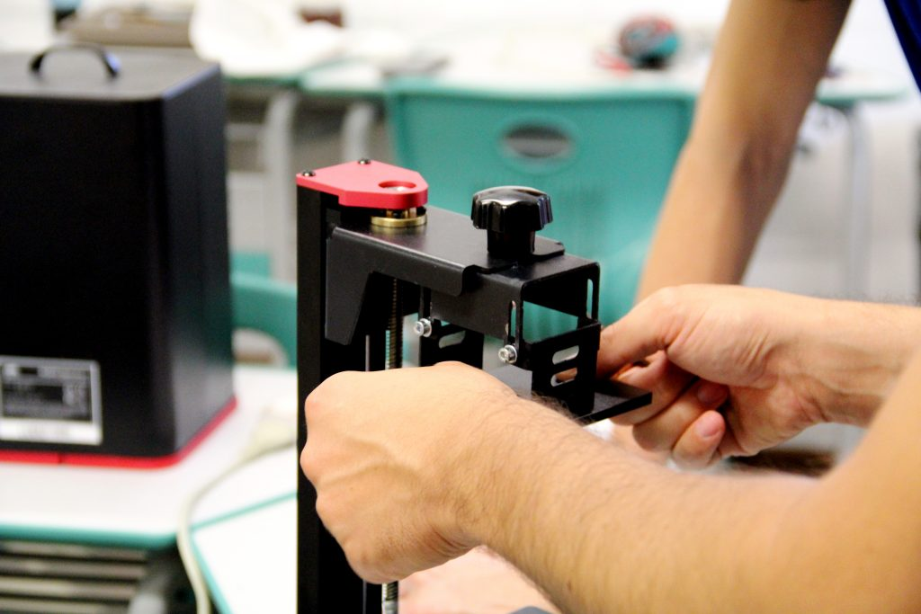 stampante resina